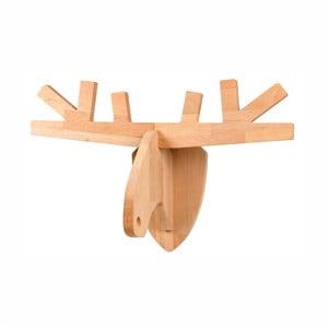 Nástenná dekorácia z jelšového dreva Nørdifra Rudolf