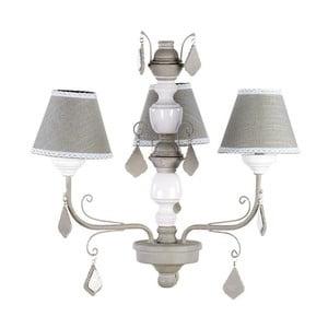 Elegantné stropné svetlo In Brown and White