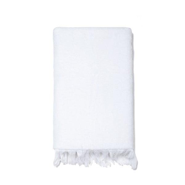 Sada 6 bielych uterákov a 2 osušiek zo 100% bavlny Bonami