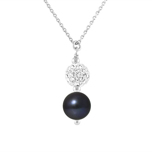 Náhrdelník s riečnymi perlami Leon