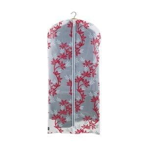Červeno-biely obal na šaty Domopak Living