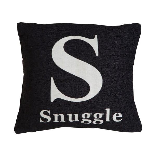 Vankúš Snuggle Black, 45x45 cm