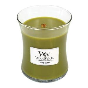 Sviečka s vôňou ovocia a kvetín Woodwick Košík jabĺk, doba horenia 60 hodín