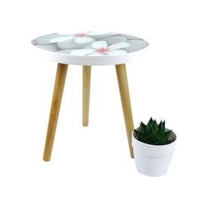 Odkladací stolík Furniteam Design, ⌀40 cm
