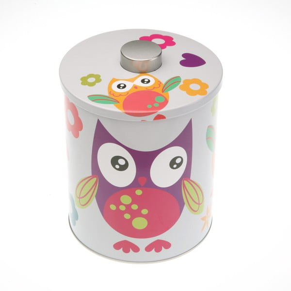 Farebná dóza Versa Buho Owl, výška 13,8 cm