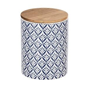 Keramický úložný box s bambusovým vekom Wenko Lorca, 950 ml