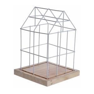Dekorácia House Cage White, 26 cm