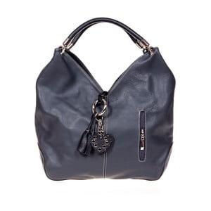 Čierna kožená kabelka Glorious Black Nudio