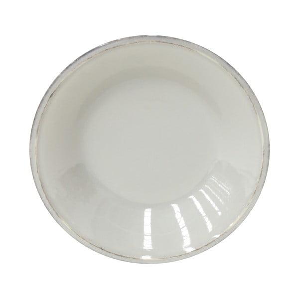 Sivý kameninový polievkový tanier Costa Nova Friso, ⌀26cm