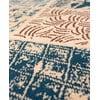 Vlnený koberec Coimbra no. 172, 60x120 cm, modrý