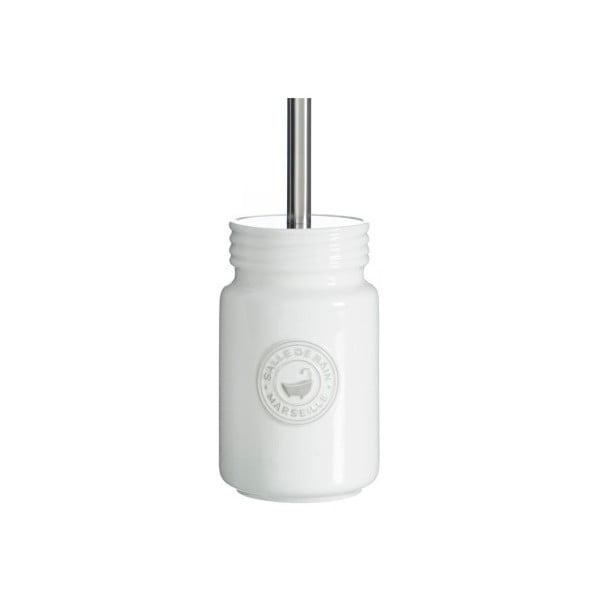 Toaletná kefa so stojanom Cosas de Casa Puro Blanc