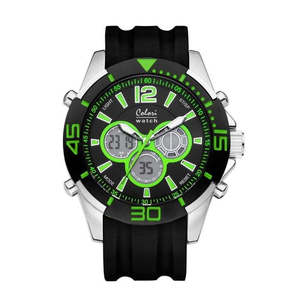 Hodinky Colori 47 Green/Black