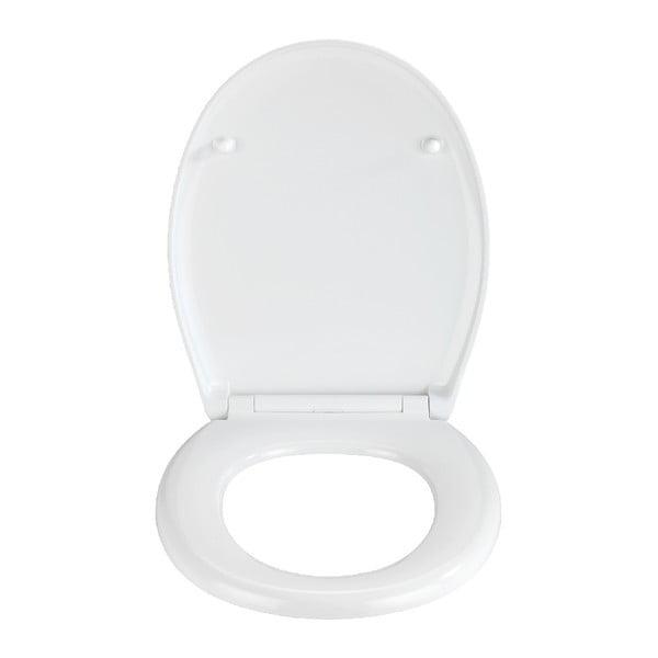 WC sedadlo s jednoduchým zatváraním Wenko Easy Stream, 44,5 × 37 cm