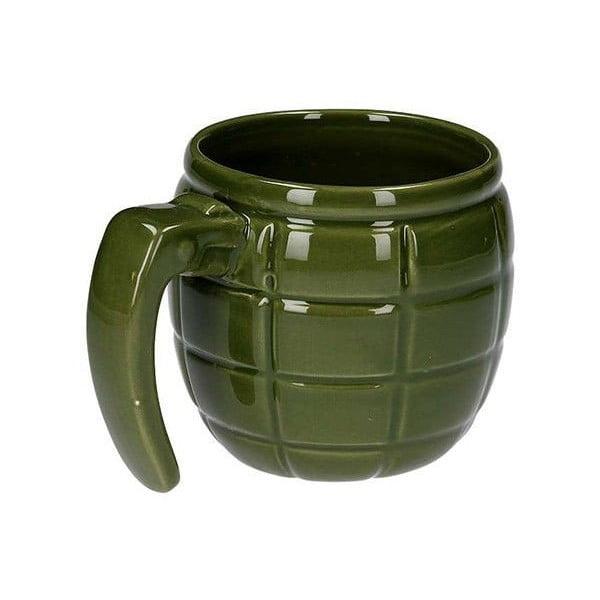 Hrnček v tvare granátu, zelený