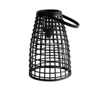 Sivá ratanová stolová lampa Red Cartel Malang
