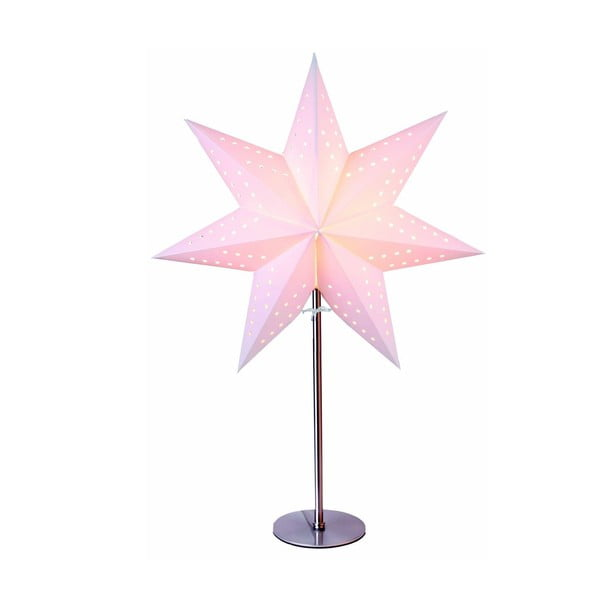 Svietiaca hviezda so stojanom Best Season Bobo Beige, 50 cm