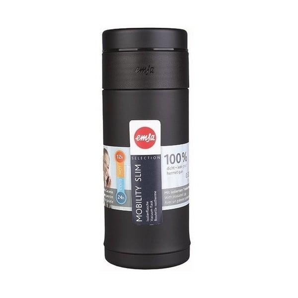 Termo fľaša Mobilitiy Slim Black, 420 ml