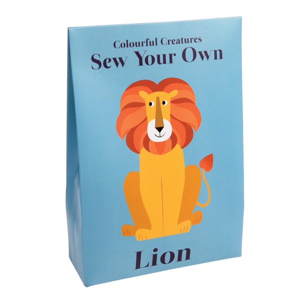 Set na una šitie plyšové hračky Rex London Charlie The Lion
