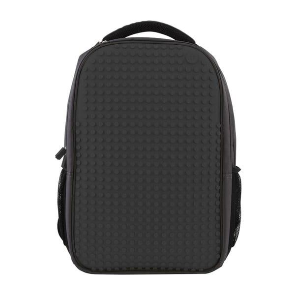 Študentský batoh Pixelbag grey/black