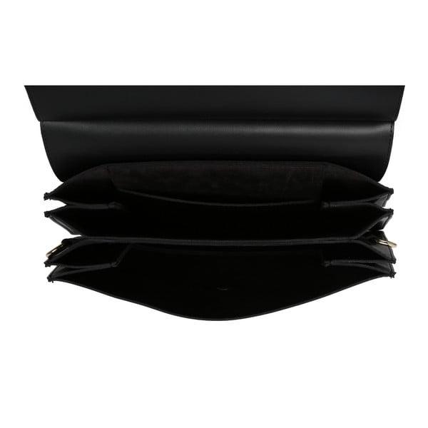 Čierna kabelka z eko kože Beverly Hills Polo Club Sylvia