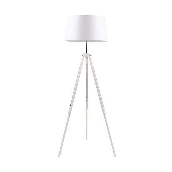 Stojacia lampa Tripod Britop, biela