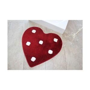 Kúpeľňová predožka Alessia Poni Red, Ø90 cm