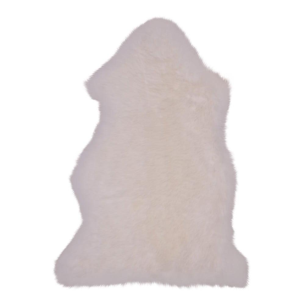 Biela ovčia kožušina House Nordic, 50 x 85 cm