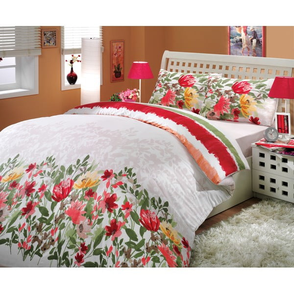 Obliečky s plachtou Lilian Red, 200x220 cm