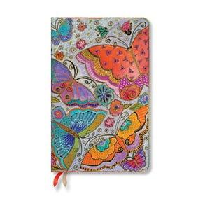 Diár na rok 2019 Paperblanks Flutterbyes, 13,5 x 21 cm