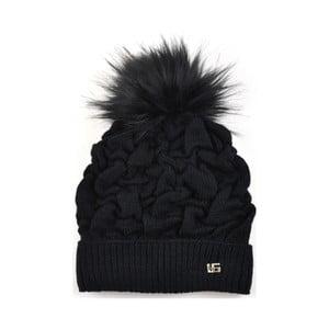 Dámska čiapka Kora, čierna