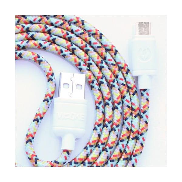 Nabíjací kábel Micro USB Wooky Fantasy, 1,5 m