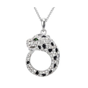 Náhrdelník s krištáľmi Swarovski Elements Crystals Leopard