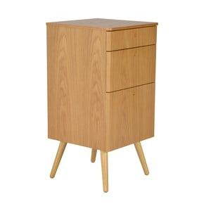 Kancelárske zásuvky Niles, 59 x 40 cm, dub