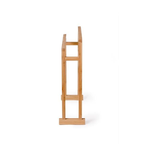 Bambusový stojan na osušky Wireworks Arena Bamboo