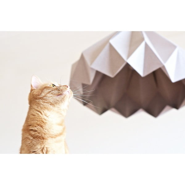 Origamica luster Spring Light For Two Elegant Grey
