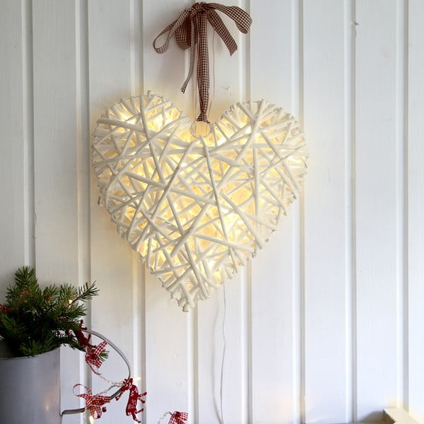 Svietiaca LED dekorácia Best Season Beige,35cm