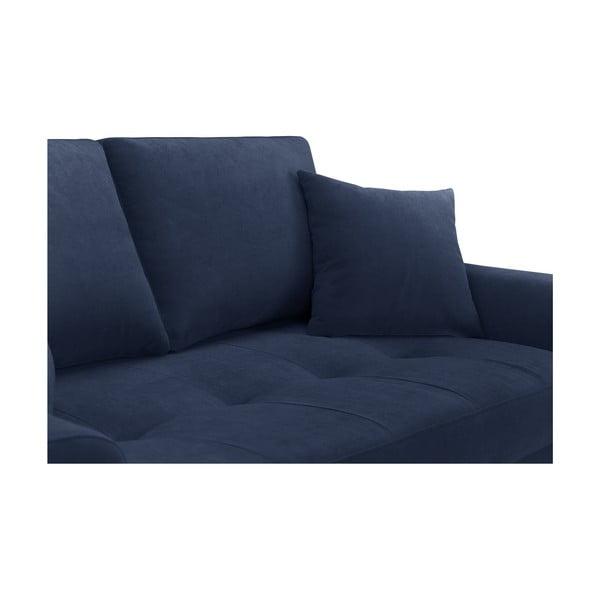 Námornícky modrá rohová pohovka Corinne Cobson Home Dillinger, pravý roh