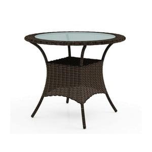 Hnedý záhradný stôl Oltre Filip
