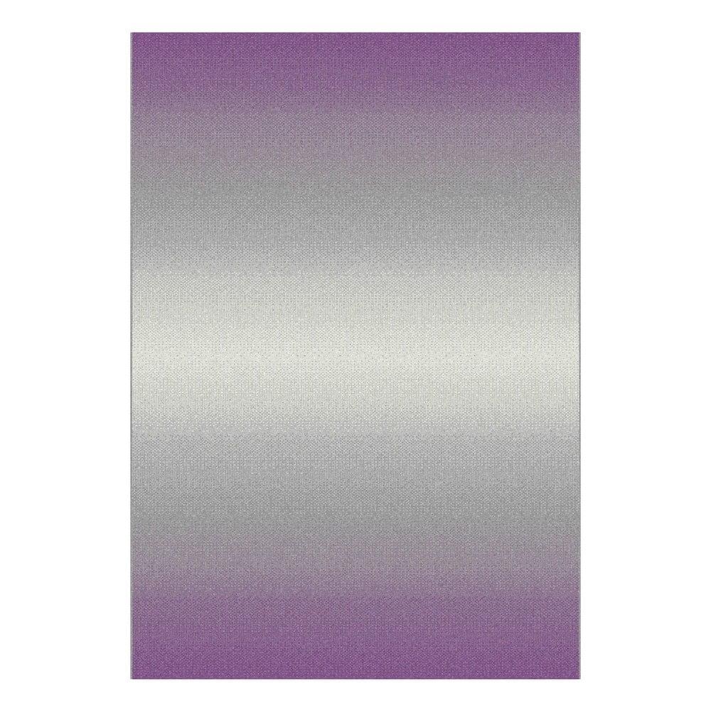 Sivo-fialový koberec Universal Boras, 67 x 250 cm