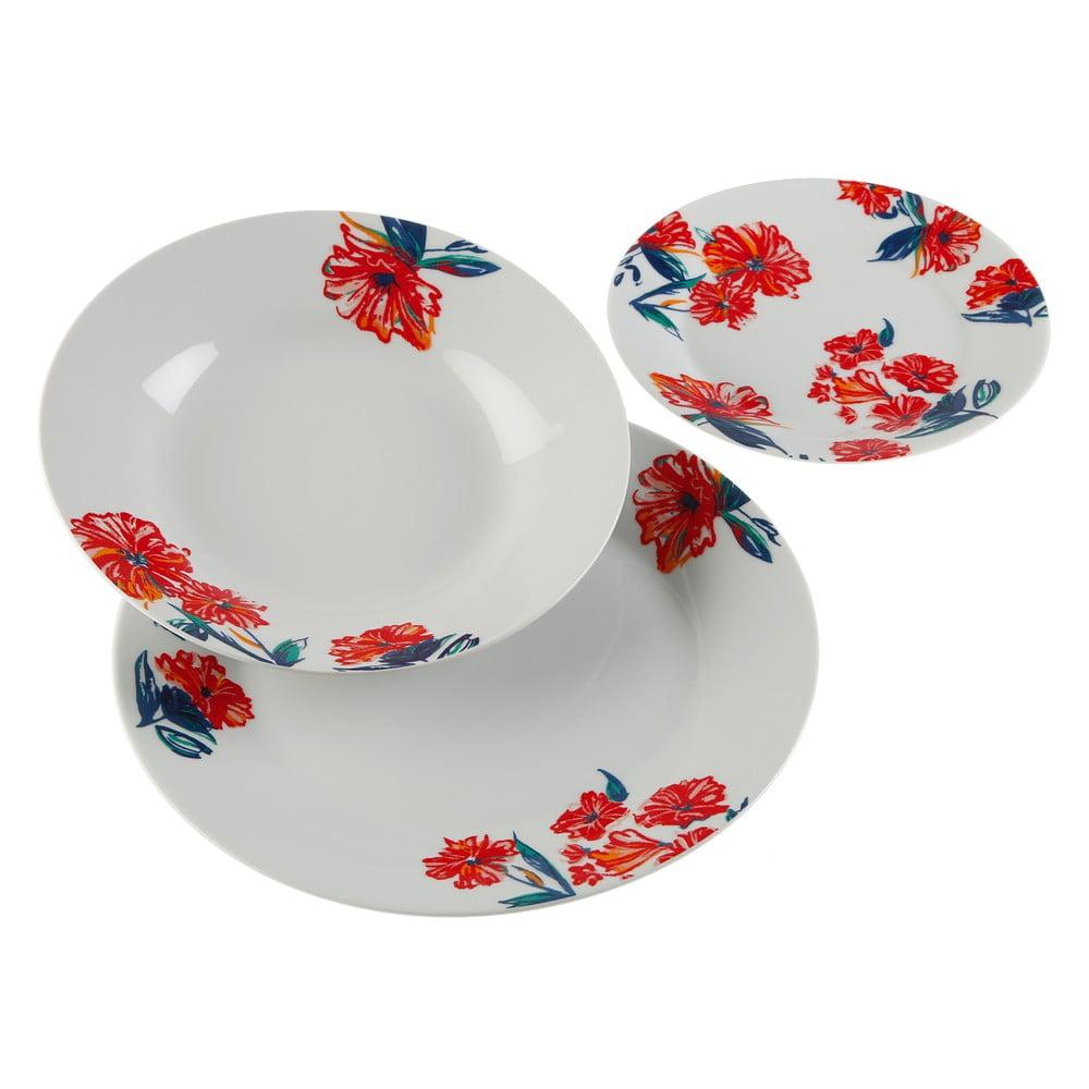 18-dielna sada porcelánových tanierov Versa Paradis