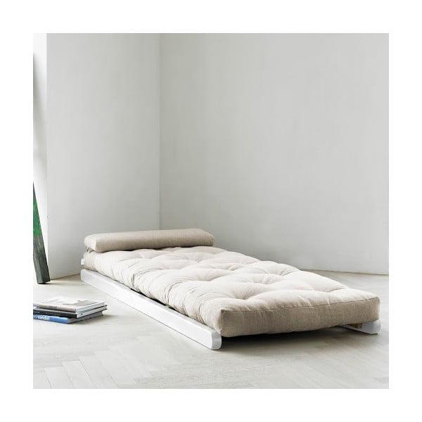 Leňoška Karup Figo White/Natural,  70 cm