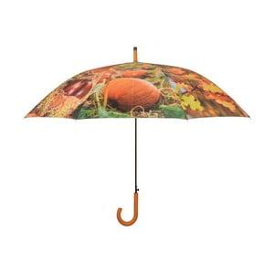 Dáždnik s rúčkou s jesenným dizajnom Esschert Design, ø 120 cm