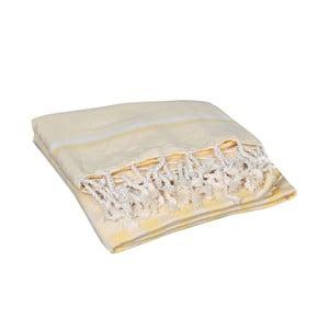 Žltá hammam osuška Hera Yellow, 90x190cm