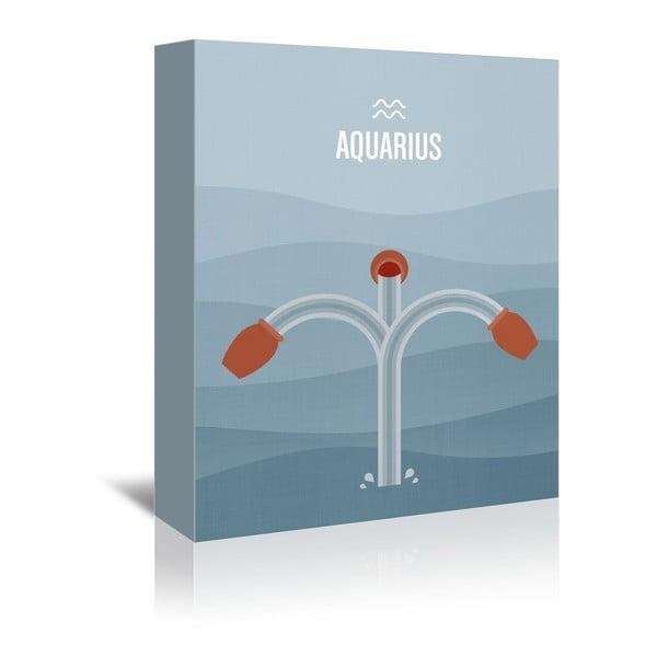 Obraz na plátne Aquarius od Christiana Jacksona
