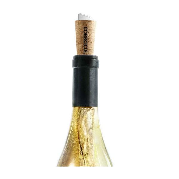 Chladiaci korok a lievik na víno Root7 Corkcicle