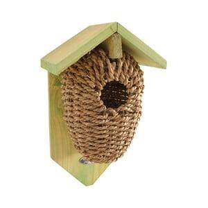 Vtáčia búdka z morskej trávy Esschert Design, výška 26,2 cm