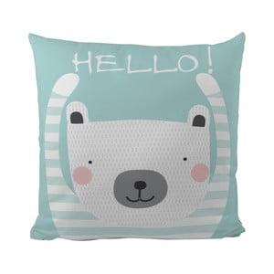 Vankúš Hello Bear, 50x50 cm