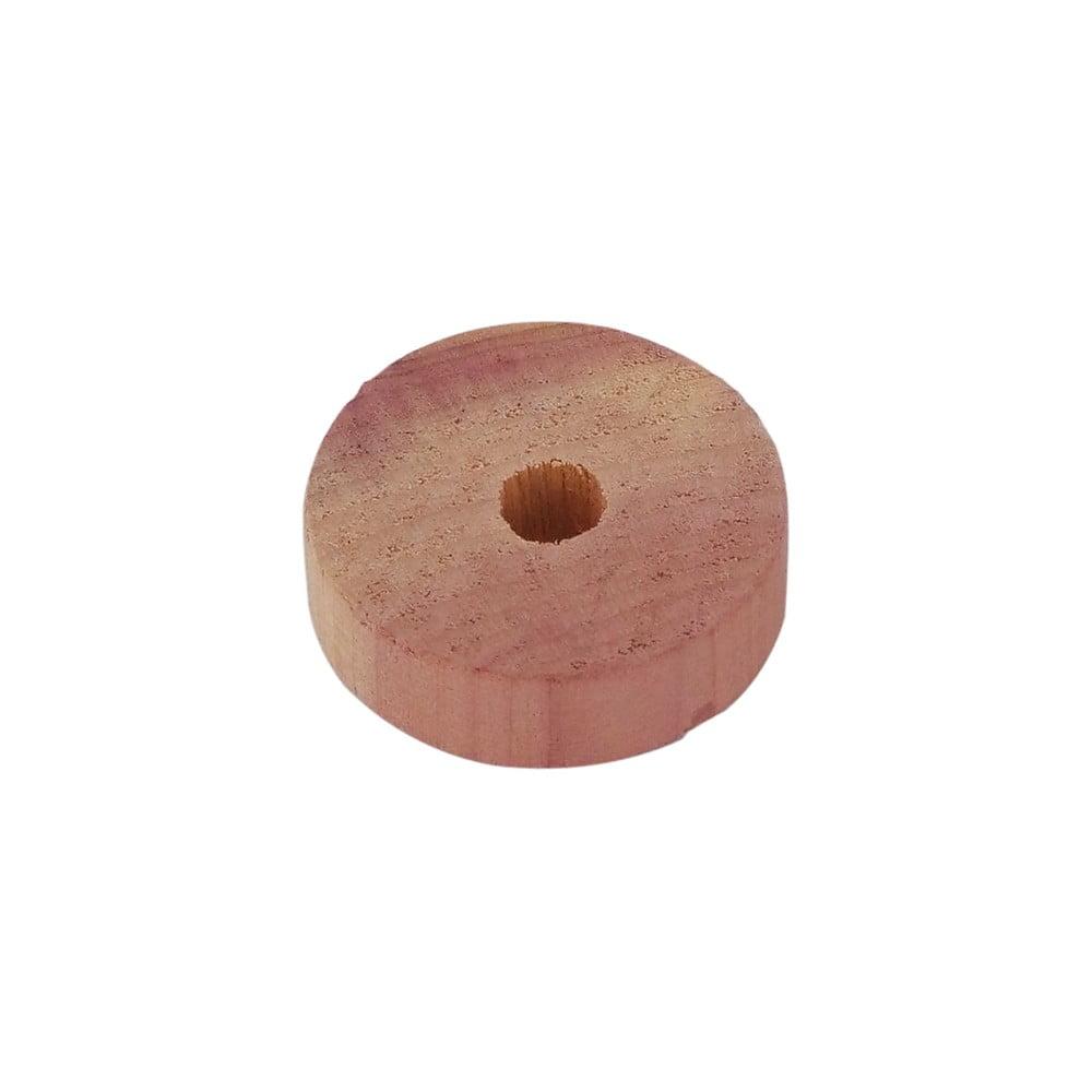 Sada 6 prsteňov z cedrového dreva do šatníkovej skrine Compactor