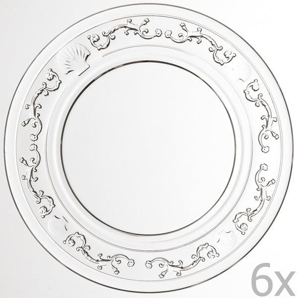 Sada 6 dezertových tanierov Versailles, 15 cm