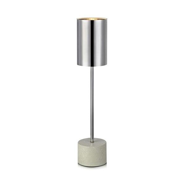 Stolová lampa v striebornej farbe Markslöjd Astoria